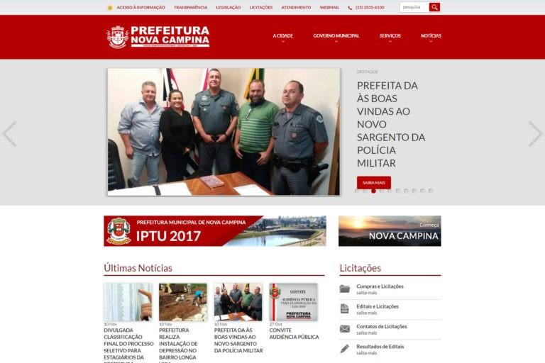Prefeitura de Nova Campina