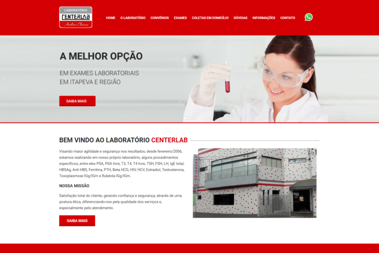 Laboratório Centerlab